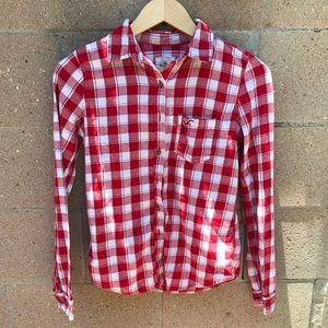 Red & White Flannel - Hollister Co.